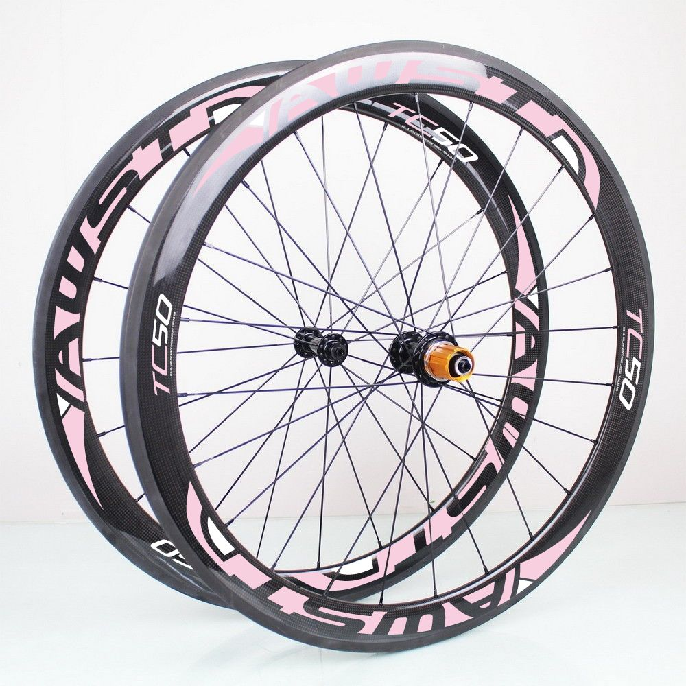 Free Shipping Powerway R13 Hubs 50mm Carbon Clincher Wheelset