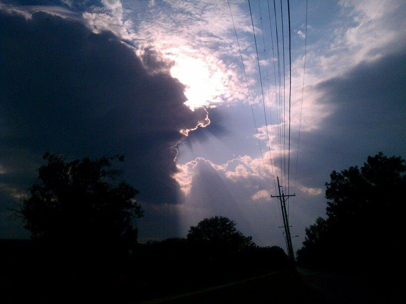 So Beautiful! It Looks Like Heaven Opening Up!