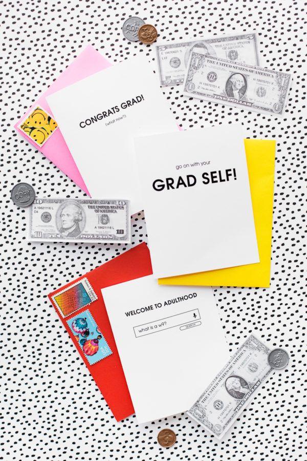 Free Printable Graduation Cards | studiodiy.com