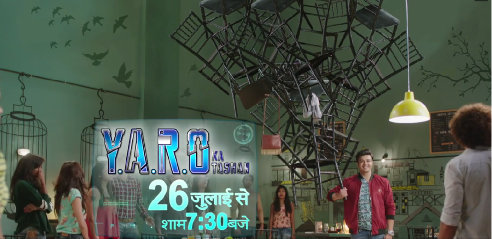 Dheeraj Kumar with cast of serial 'Yaro Ka Tashan' at Launch of their new