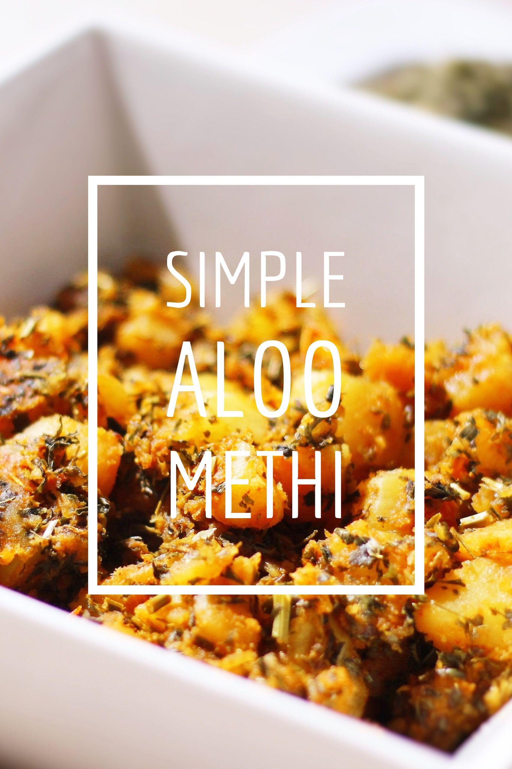 Simple aloo methi recipe in my youtube channel link in my bio indian food recipes simple aloo methi recipe in my youtube channel link in my bio forumfinder Image collections