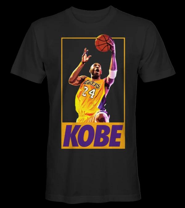 Kobe Bryant Basketball NBA La Lakers Legend Going for the