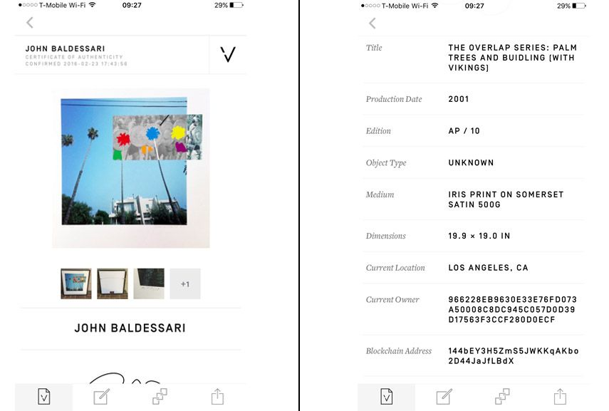 An Artist Can Now Easily Create A Certificate Of Authenticity  A