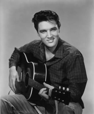 Born Elvis Aron Presley on January 8, 1935, in Tupelo, Mississippi.