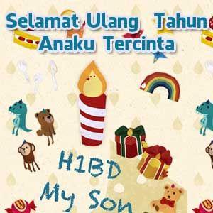 Ucapan Selamat Ulang Tahun Untuk Anak Umur 1 Tahun Happy B Day