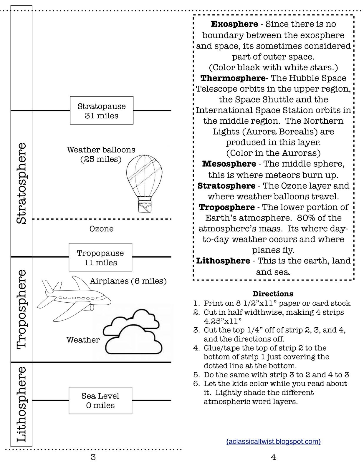 Lightning Worksheet Science
