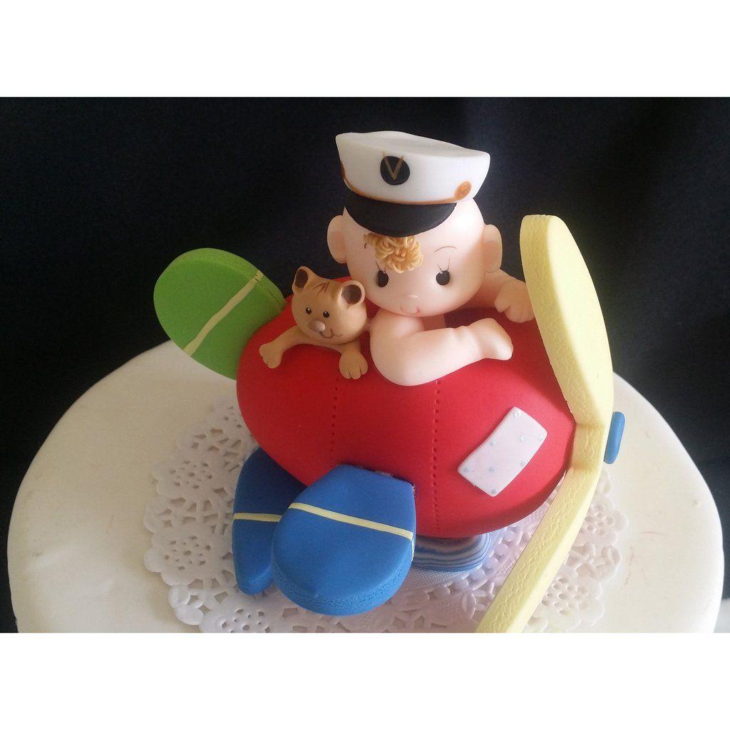 Superb Birthday Party Birthday Cake Topper Airplane Birthday Party Cake Funny Birthday Cards Online Inifofree Goldxyz