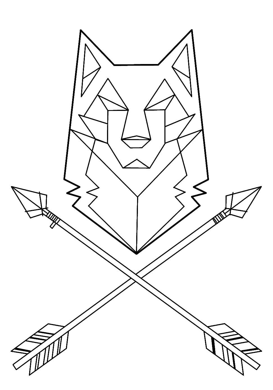 wolf tattoo geometric - Buscar con Google | tatoo ...