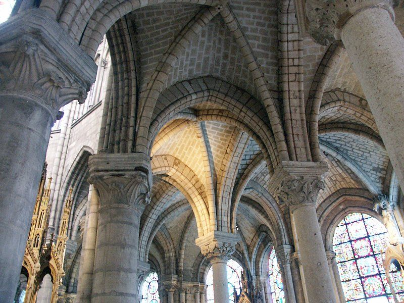 Ribbed Vault St Denis