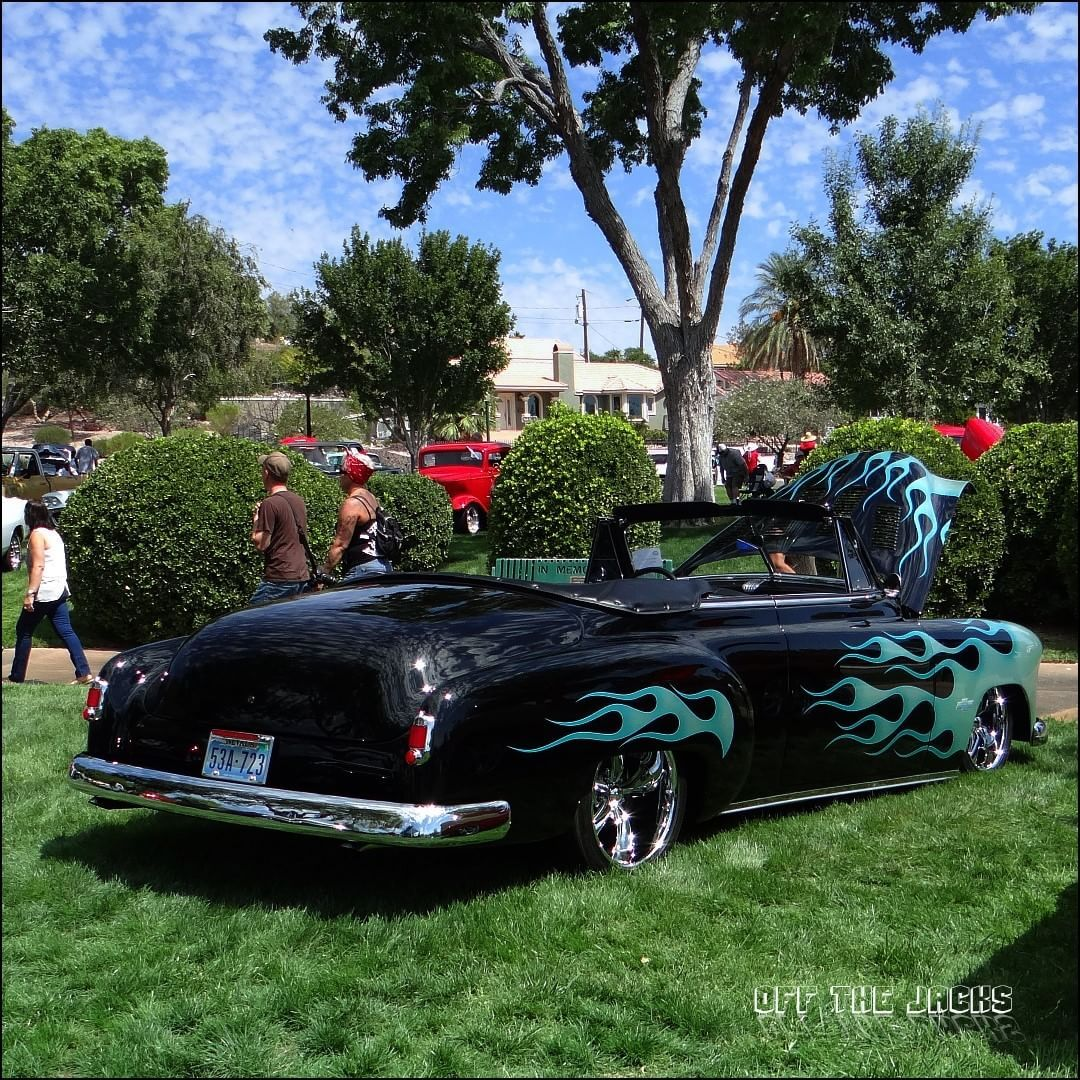 This Is A 1951 Chevrolet Styleline Deluxe Chevy Chevystyleline Convertible Bouldercity Lasvegas Carshow Classiccarshow Vintagecar Classiccar