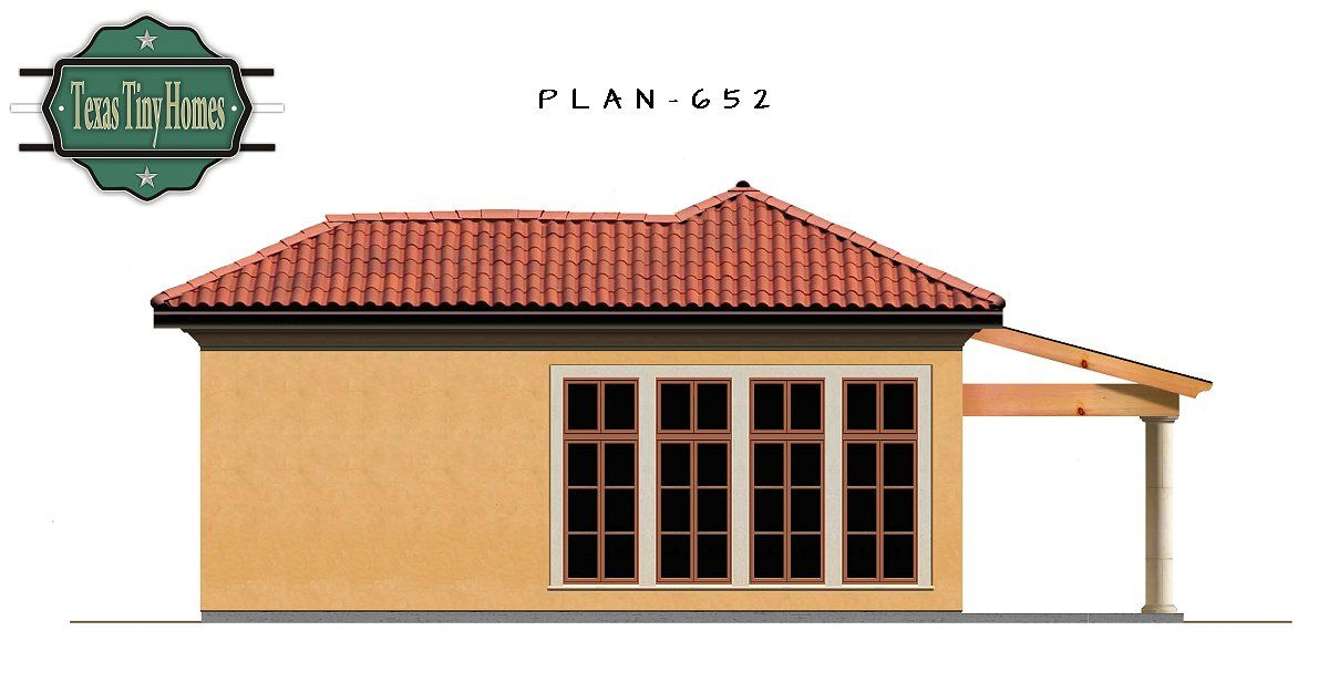 Plan 652 Mother In Law Suite, Home For Mom, Texas Tiny Homes,