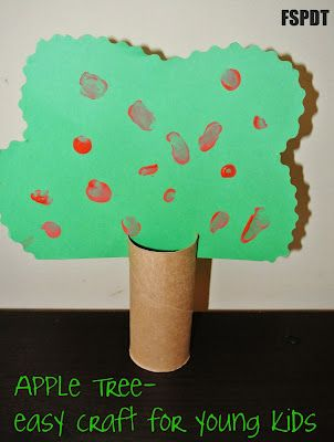 3d Apple Tree The Perfect Fall Craft For Preschoolers Tree Crafts Preschool Crafts Apple