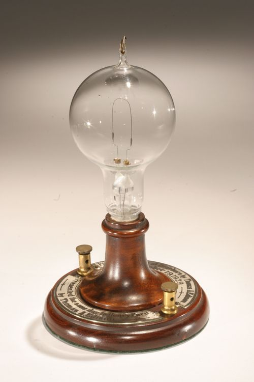 First Electric Lamp Google Search Art