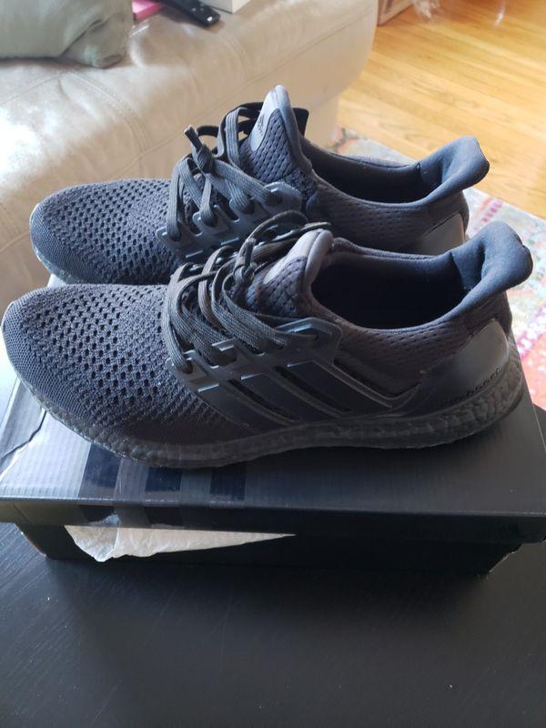 Adidas Ultra Boost Triple Black 1 0 For Sale In Boston Ma Ultra Boost Triple Black Triple Black All Black Sneakers