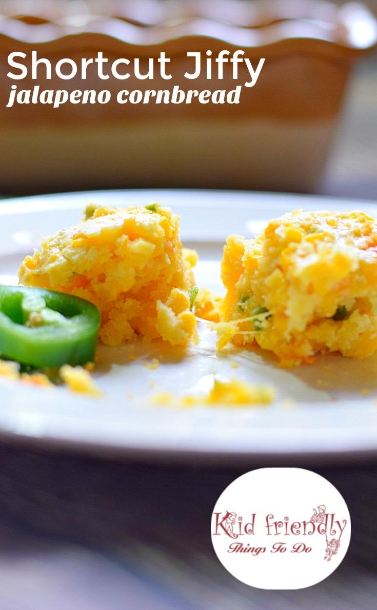 Shortcut Jiffy Jalapeno & Cheddar Mexican Cornbread Recipe