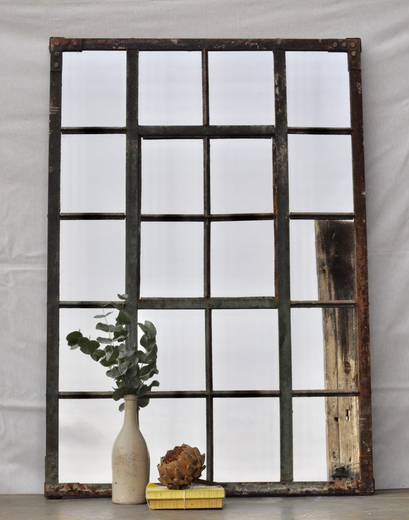 View All Products Browse Home Barn S Full Collection Warehouse Windows Large Vintage Mirror Window Mirror