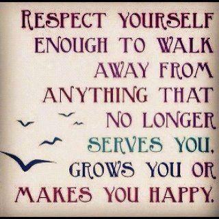 Respeito a si mesmo!...