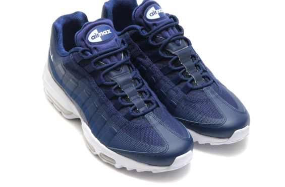 adef1aadd49943 Binary Blue Covers The Latest Nike Air Max 95 Ultra Essential