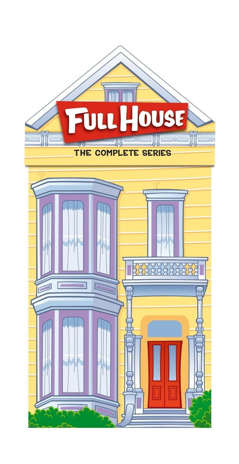 Amazon Full House Complete Series Collection Only 54 49 Shipped Reg 169 72 Full House Complete Series Full House Dvd Full House