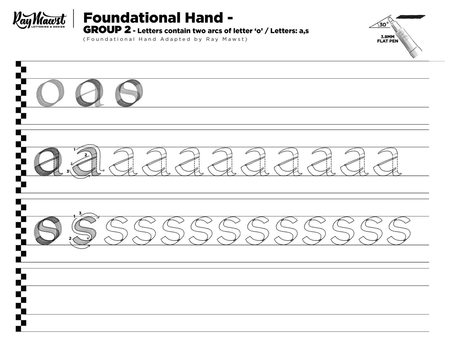 Foundational Hand Worksheets With Images