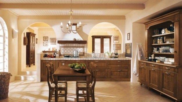 Idee per arredare una cucina classica kitchen cuisine for Idee arredo cucina classica