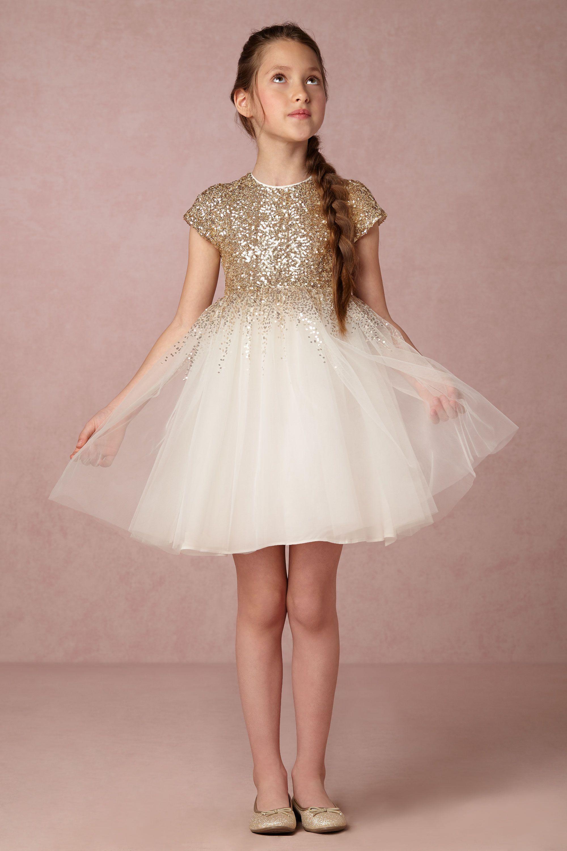 Degas Moon Dress Cute flower girl dresses, Sequin flower