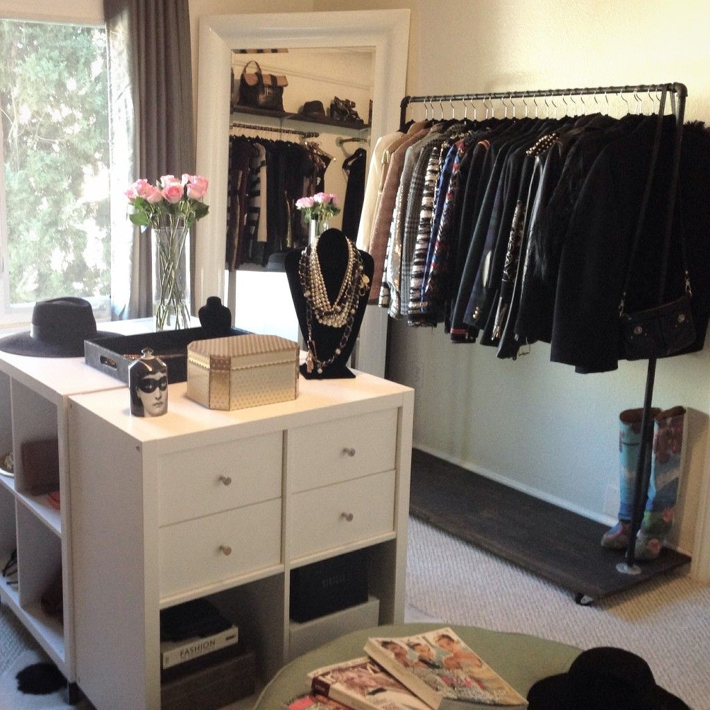 Ikea hack diy closet island closets dressing rooms for Dressing room ideas ikea