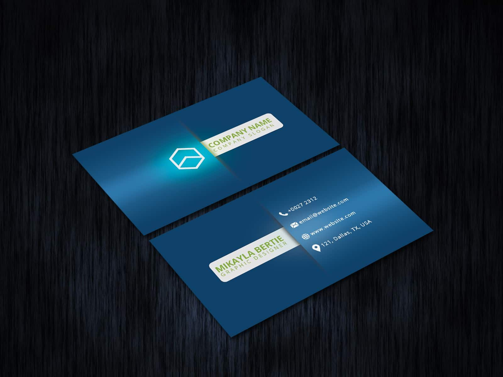 3d Shadow Business Card Business Cards Creative Corporate Business Card Cards
