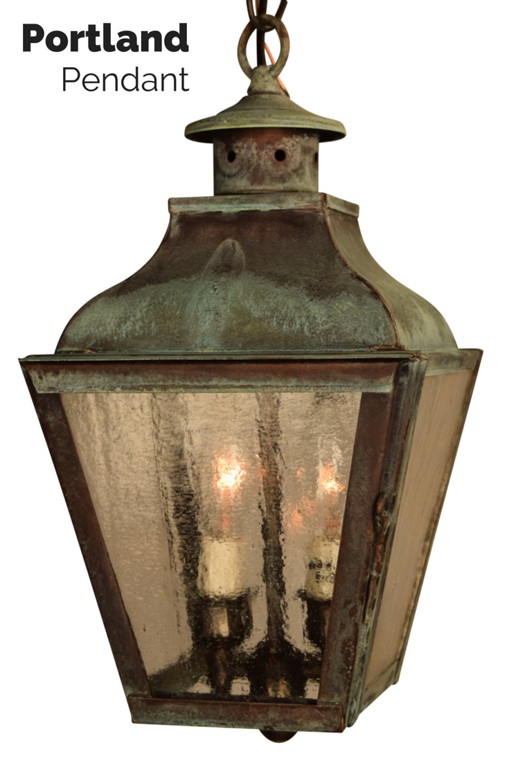 Portland pendant hanging lantern copper lantern outdoor lighting portland pendant hanging lantern outdoor hanging lightsoutdoor aloadofball Image collections