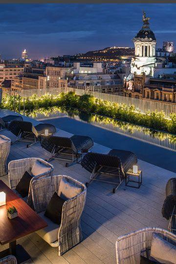Increible Esta Terraza En Barcelona Terrazas Terrazas Chill Out Habitaciones De Hotel
