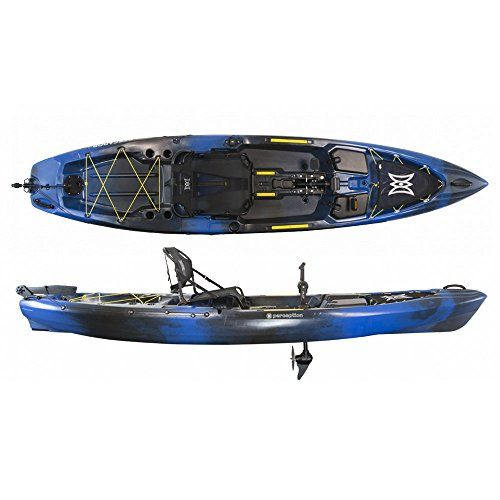 2017 Perception Pescador Pilot 120 Pedal Fishing Kayak Sonic Camo ** Check this awesome product by going to the link at the image-affiliate link. #Kayak
