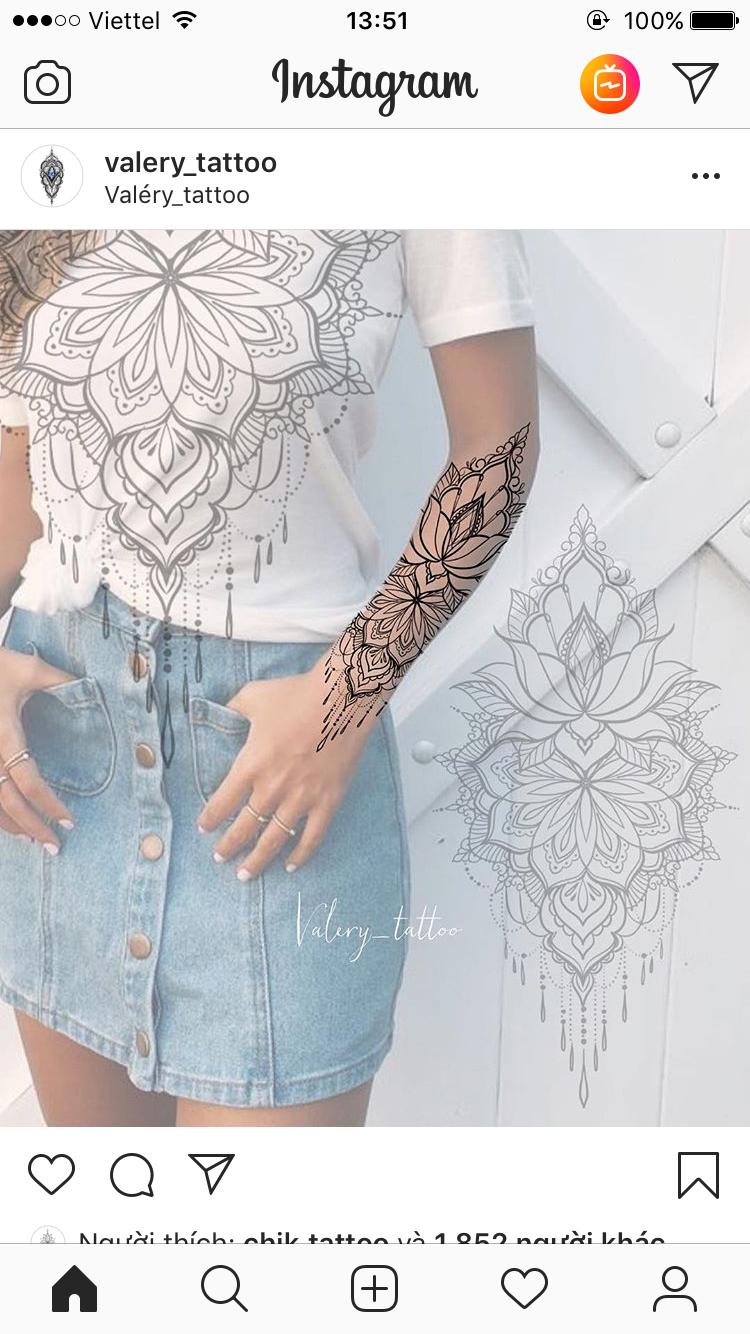 Pin De Kim Rangel Em Mandala Tatuagem Indiana Na Mao Tatuagem Feminina Braco Tatoo