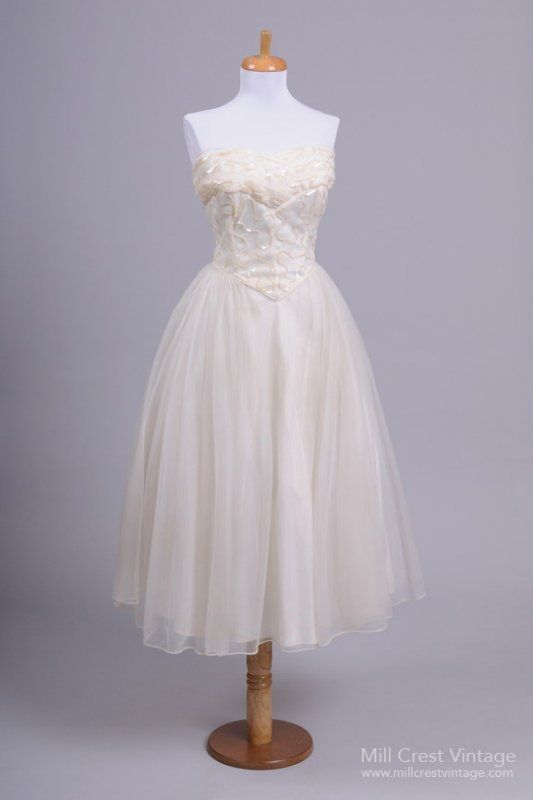 Brautkleid 1980\'s Sequin Bodice Vintage Wedding Dress A-Linie ...
