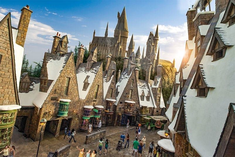 In The Hogsmeade Land Of The Wizarding World Of Harry Potter In Universal Orlando You Can Ride Harry Potter And The Forbidden Journey In Hogwarts Castle Dine
