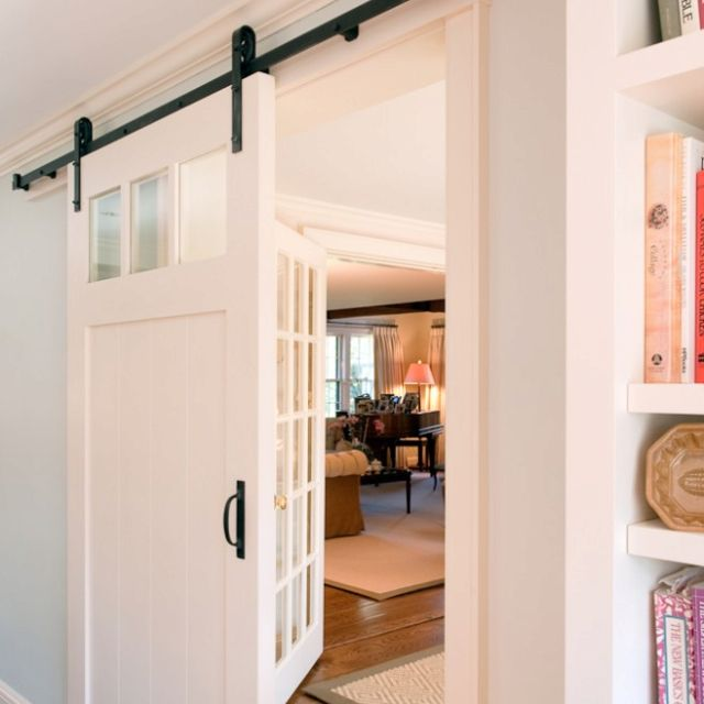 Love the sliding door! Interior and Exterior Design Pinterest - Porte De Maison Interieur