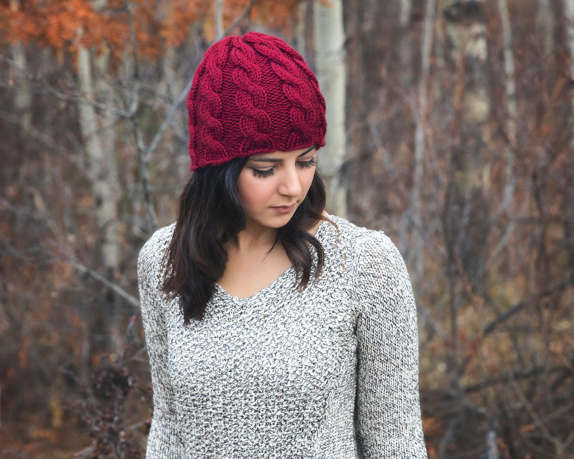 Chunky Cabled Cowl - Free Knitting Pattern | Knitted hats ...
