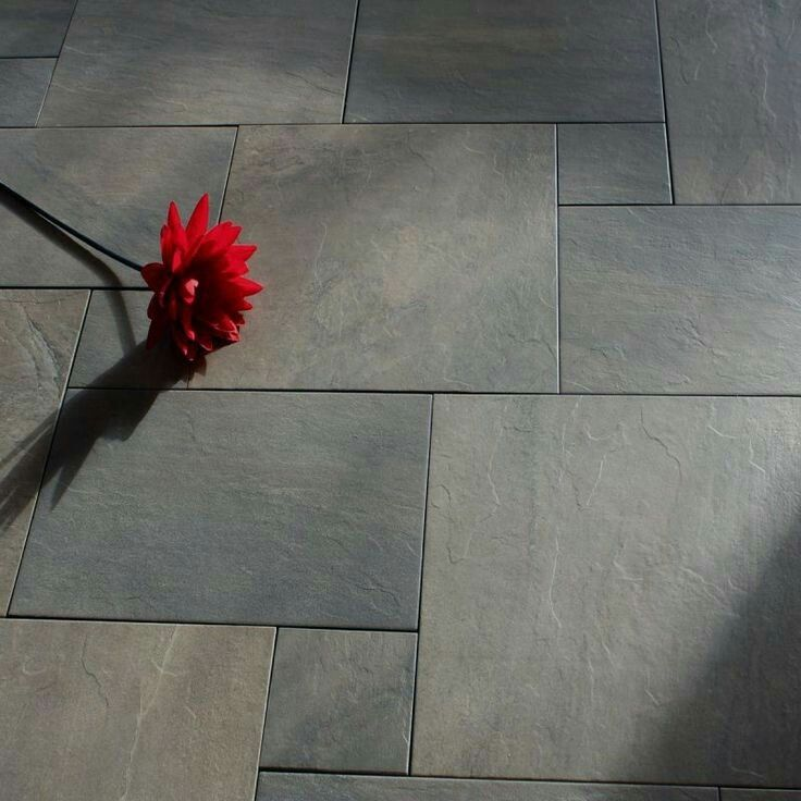 Slate Look Tiles Tile Flooring In 2018 Pinterest Piso De