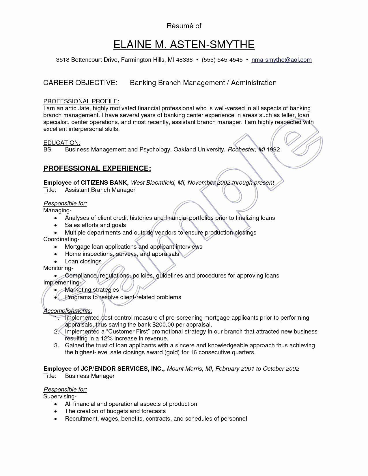 Resume Objectives For Teaching 9 Resume Objectives