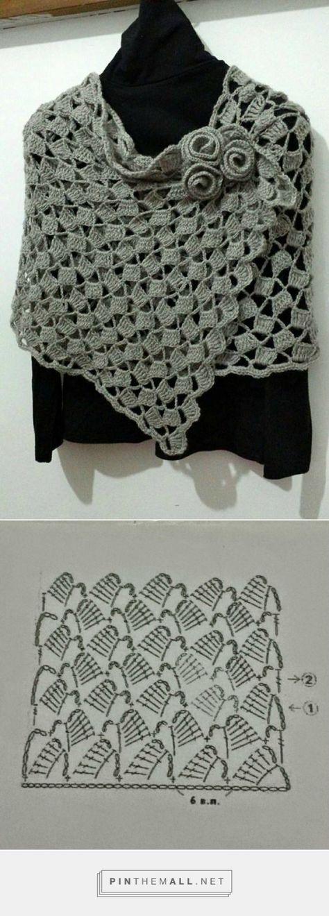 Pin von audrey yerdua auf crochet   Pinterest   Tücher, Schals und ...