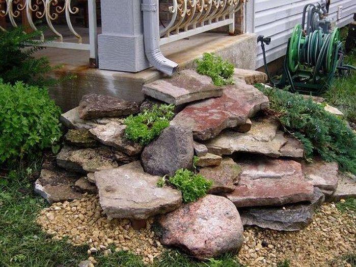 Rain Garden Design Landscaping Front Yards_3. Backyard ...