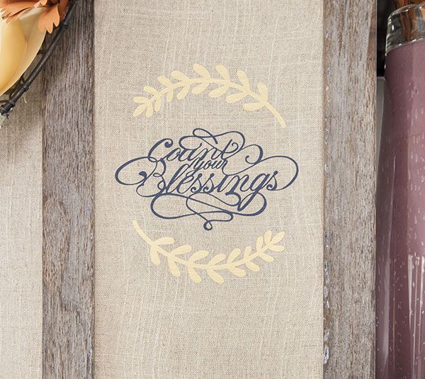"""How To Make A """"Count Your Blessings"""" Wall Art with the ..."""