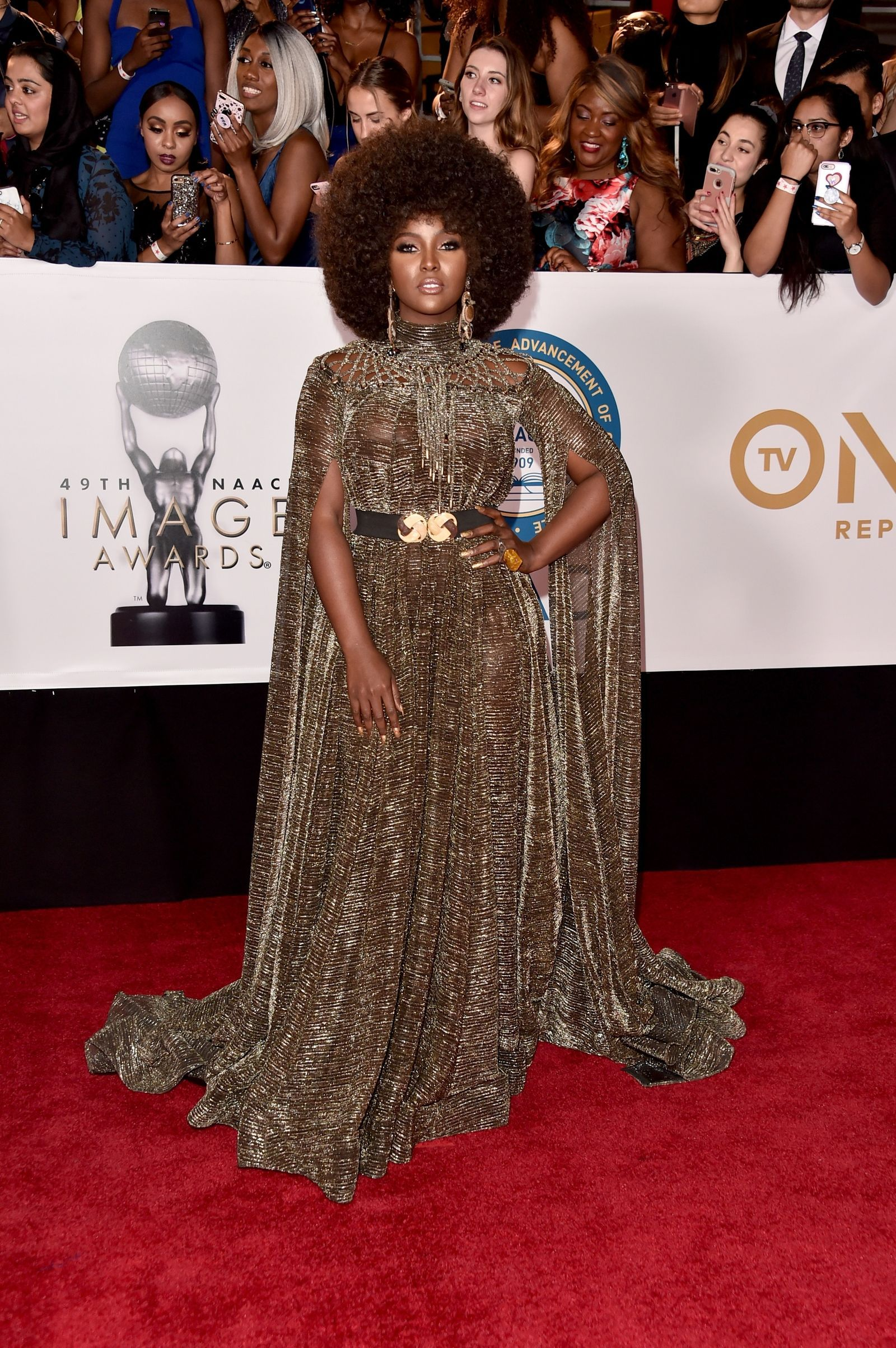 5c8e65fa All the Looks From the 49th NAACP Image Awards Red Carpet | Amara ...