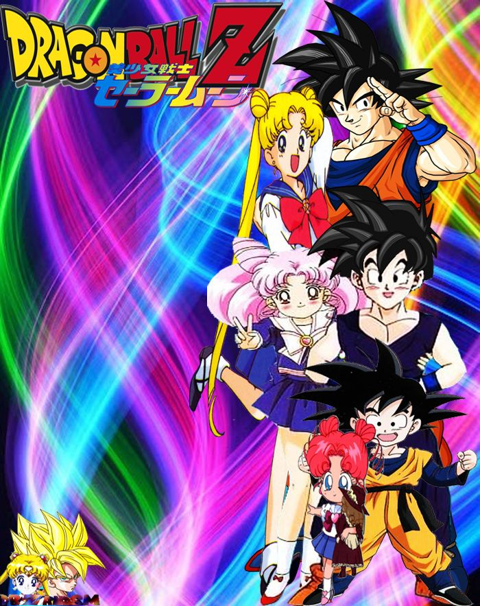 Dragon Ball Z X Sailor Moon Heroes And Heroines By Dbzandsm On Deviantart