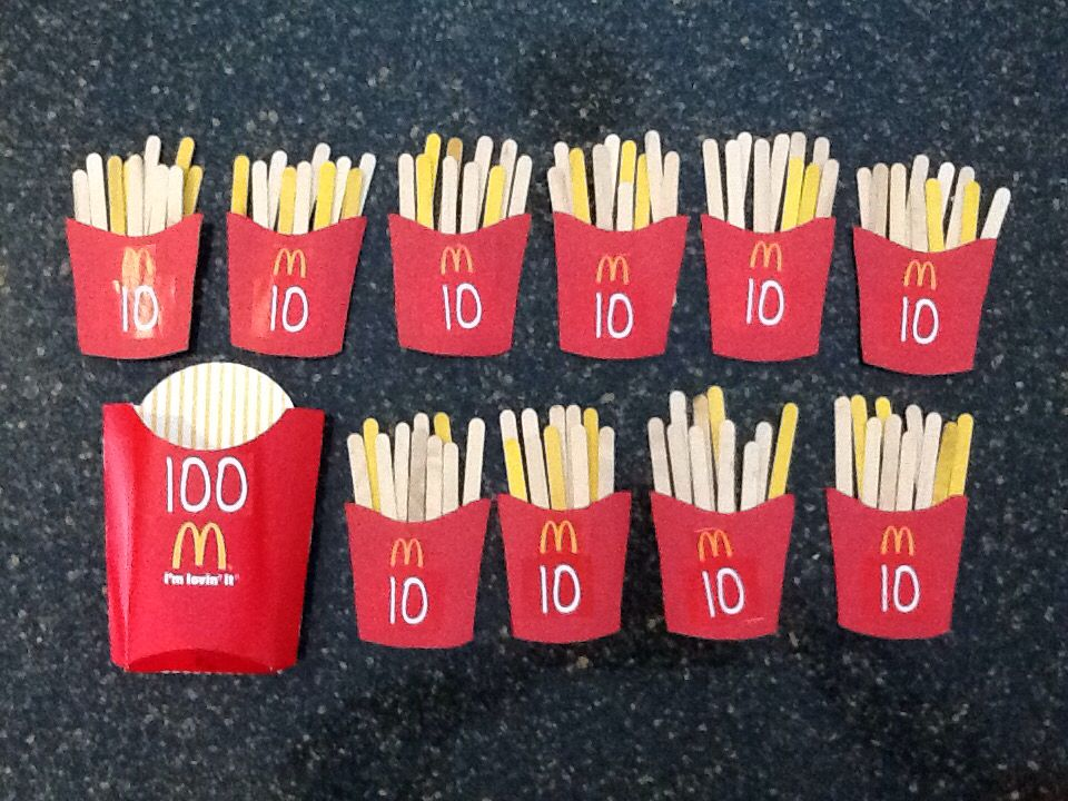100 Day Of School Project My Son Enjoyed Counting These Popsicle