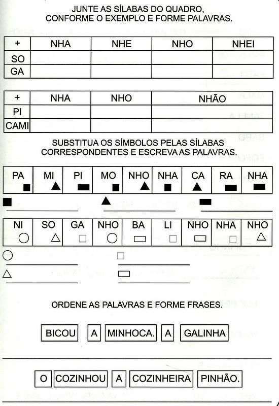 004 Jpg 550 800 Atividades De Alfabetizacao Alfabetizacao