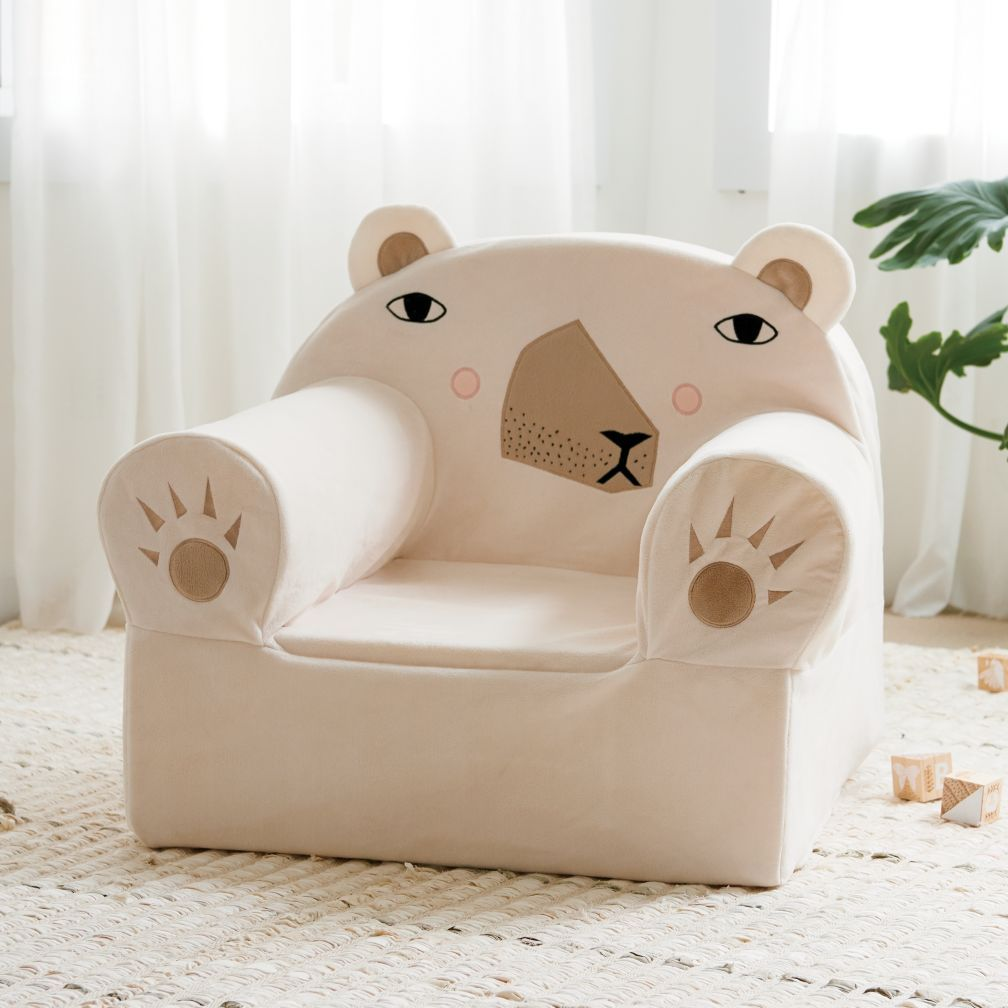 Executive Polar Bear Nod Chair The Land Of Nod Personalized Kids Chair Nursery Chair White Wooden Chairs