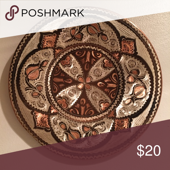 Etched Metal Plate Metal Copper Plate Wall Hanging Floral Design That Looks To Either Be Scratched Or Etched Onto T In 2020 Etched Copper Metal Etching Mandala Effect