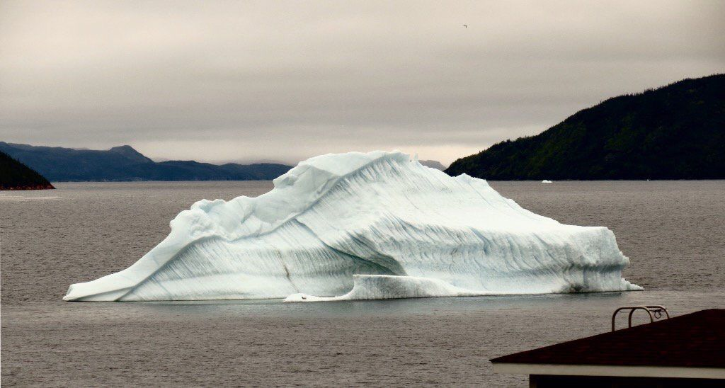 Iceberg at Kings Point