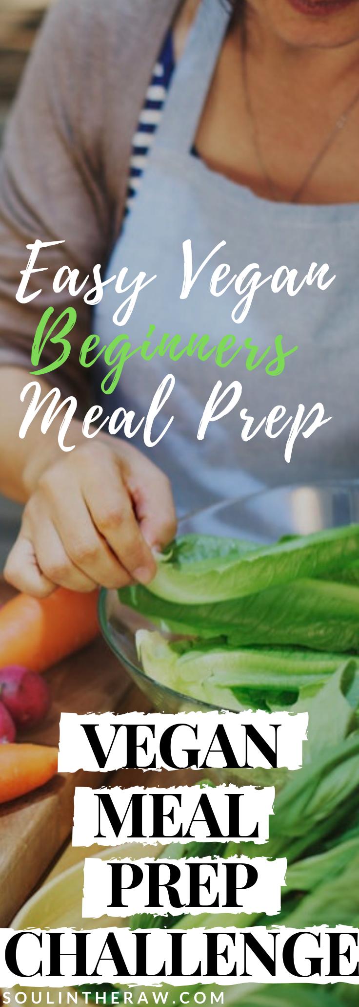 Vegan Meal Prep Challenge: Easy Meal Prep for Beginners images