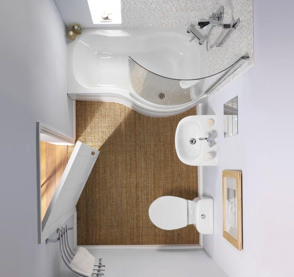 Дизайн-проект ванной комнаты 2 кв м в белых тонах | Надо купить ...